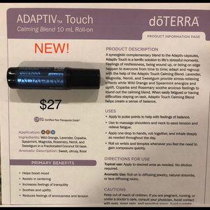 NEW PRODUCT!!! dōTERRA Adaptiv Touch